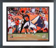 Denver Broncos Julius Thomas 2014 Action Framed Photo