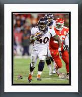 Denver Broncos Juwan Thompson 2014 Action Framed Photo