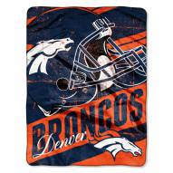 Denver Broncos Livin' Large Blanket
