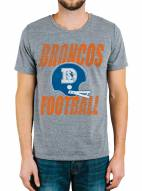 Denver Broncos Men's Touchdown Tri-Blend Tee