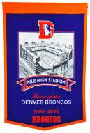 Denver Broncos Mile High Stadium Banner