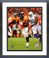 Denver Broncos Montee Ball 2014 Action Framed Photo