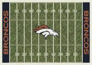 Denver Broncos NFL Home Field Area Rug