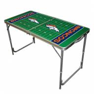 Denver Broncos NFL Outdoor Folding Table