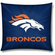 Denver Broncos 18 Inch Toss NFL Pillow
