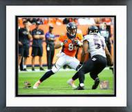 Denver Broncos Owen Daniels 2015 Action Framed Photo