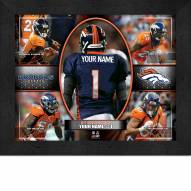 Denver Broncos Personalized Framed Action Collage