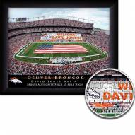 Denver Broncos Personalized Framed Stadium Print