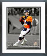Denver Broncos Peyton Manning 2014 Spotlight Action Framed Photo