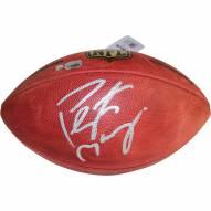 Denver Broncos Peyton Manning Signed NFL Duke Football