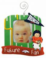 Denver Broncos Photo Frame Ornament