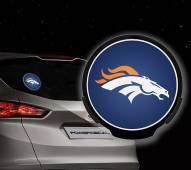 Denver Broncos Light Up Power Decal