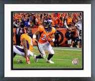 Denver Broncos Rahim Moore 2014 Action Framed Photo
