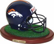 Denver Broncos Replica Football Helmet Figurine