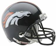 Denver Broncos Riddell VSR4 Mini Football Helmet