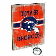 Denver Broncos Ring Toss Game
