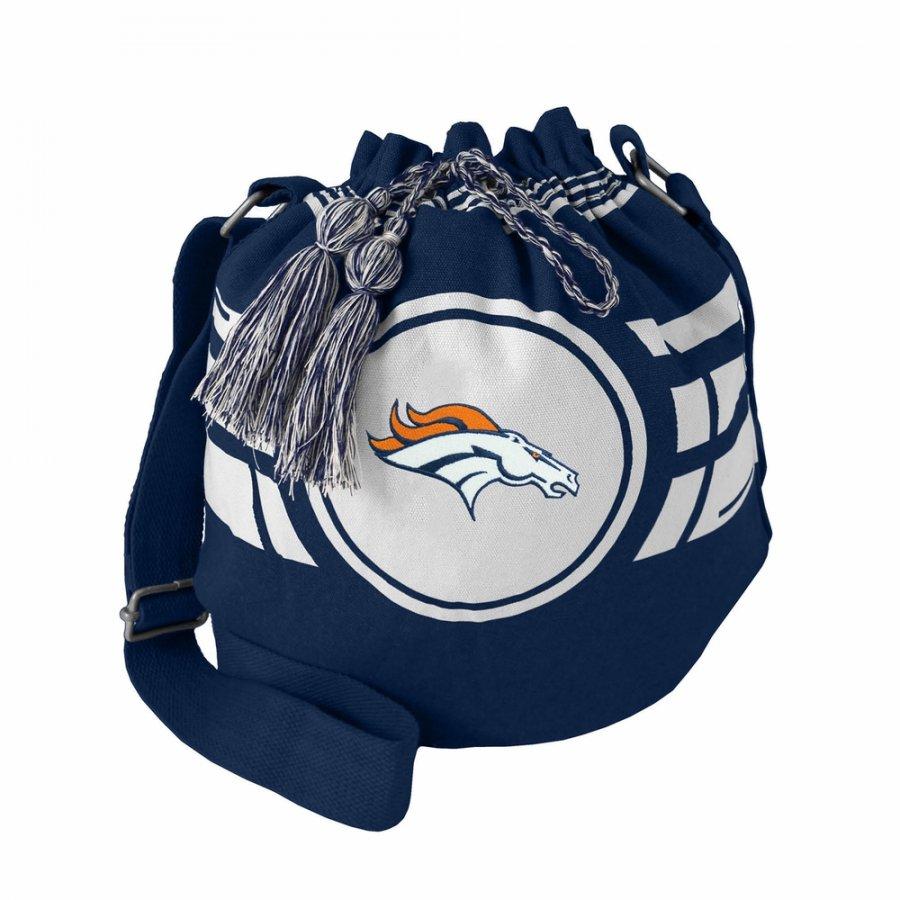 Denver Broncos Ripple Drawstring Bucket Bag