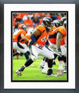 Denver Broncos Ryan Harris 2015 Action Framed Photo