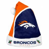 Denver Broncos Santa Hat