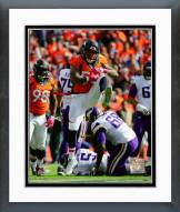 Denver Broncos Shane Ray 2015 Action Framed Photo