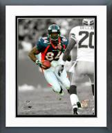Denver Broncos Shannon Sharpe Spotlight Action Framed Photo