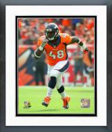 Denver Broncos Shaquil Barrett 2015 Action Framed Photo