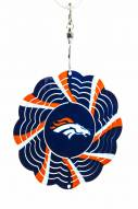 Denver Broncos Geo Spinner Tree Ornament