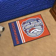 Denver Broncos Super Bowl 50 Champs Starter Rug