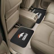 Denver Broncos Super Bowl 50 Champs Vinyl 2-Piece Rear Floor Mats