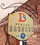Denver Broncos Tavern Sign