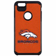 Denver Broncos Team Color Pebble Grain iPhone 6/6s Plus Case