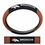 Denver Broncos Steering Wheel Cover