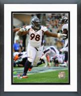 Denver Broncos Terrance Knighton 2014 Action Framed Photo