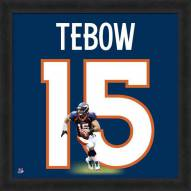 Denver Broncos Tim Tebow Uniframe Framed Jersey Photo