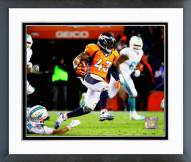Denver Broncos T.J. Ward 2014 Action Framed Photo