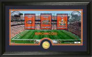 Denver Broncos Traditions Bronze Coin Panoramic Photo Mint