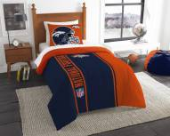 Denver Broncos Twin Comforter & Sham Set