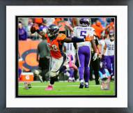 Denver Broncos Von Miller 2015 Action Framed Photo
