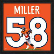 Denver Broncos Von Miller NFL Uniframe Framed Jersey Photo