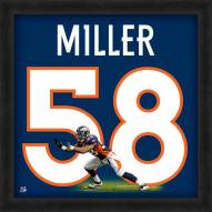 Denver Broncos Von Miller Uniframe Framed Jersey Photo