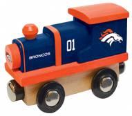 Denver Broncos Wooden Toy Train