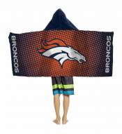 Denver Broncos Youth Hooded Towel