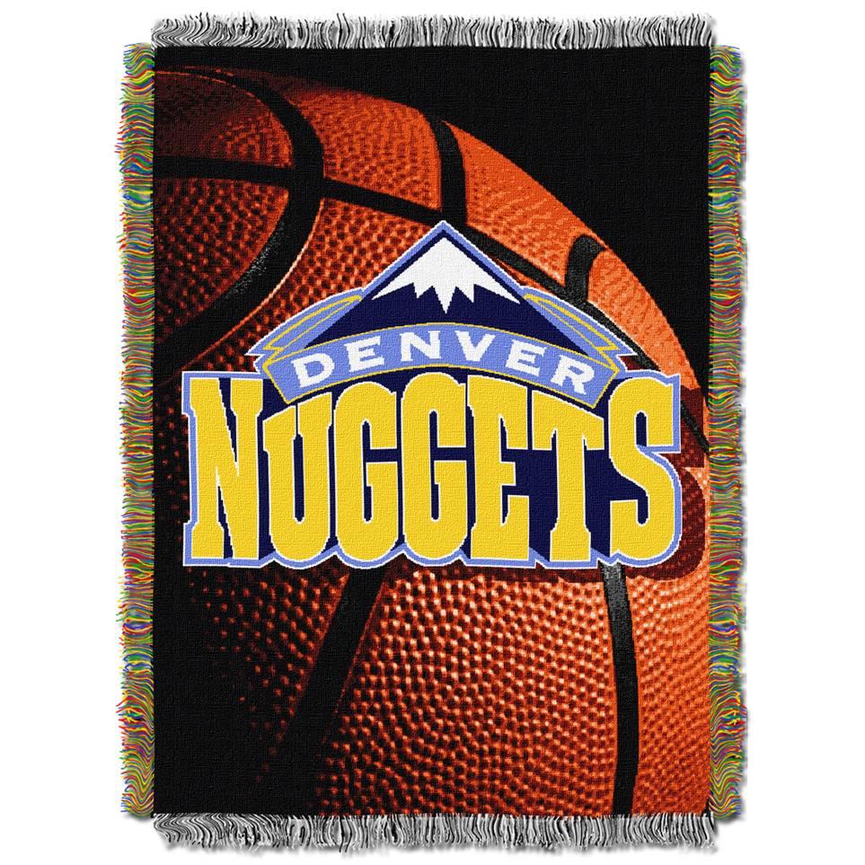 Denver Nuggets: Denver Nuggets Photo Real Throw Blanket