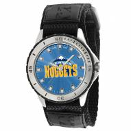 Denver Nuggets Veteran Velcro Mens Watch
