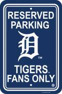 Detriot Tigers Parking Sign