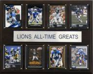 "Detroit Lions 12"" x 15"" All-Time Greats Plaque"