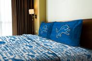 Detroit Lions Anthem Full Bed Sheets