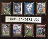 "Detroit Lions Barry Sanders 12"" x 15"" Card Plaque"