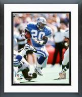 Detroit Lions Barry Sanders 1996 Action Framed Photo