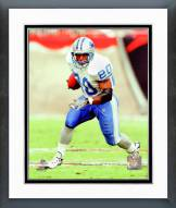 Detroit Lions Barry Sanders Action Framed Photo